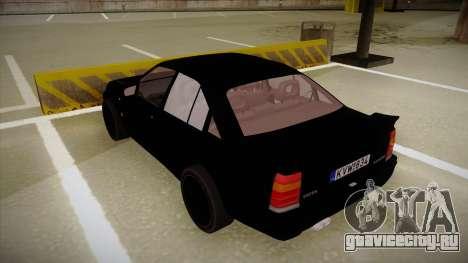 Lotus Carlton для GTA San Andreas вид сзади