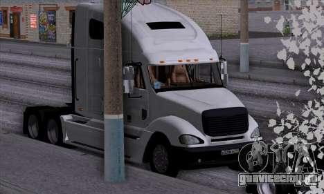 Freightliner Columbia для GTA San Andreas вид сбоку