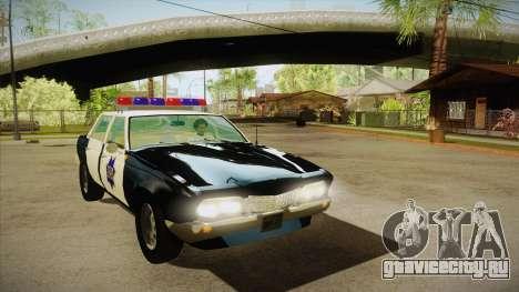 Fasthammer Police SF для GTA San Andreas вид сзади