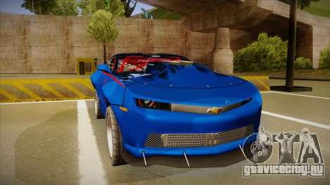 Chevrolet Camaro ZL1 Elite для GTA San Andreas вид слева