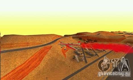 Stunt GTA V для GTA San Andreas вид сзади