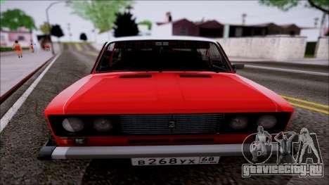ВАЗ 2106 Ретро для GTA San Andreas вид слева