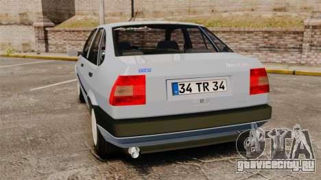 Fiat Tempra SX.A v2.0 для GTA 4 вид сзади слева