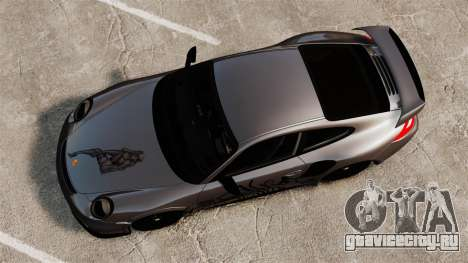 Porsche 911 GT2 RS 2012 Turbo для GTA 4 вид справа