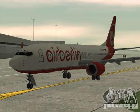 Boeing 737-800 для GTA San Andreas