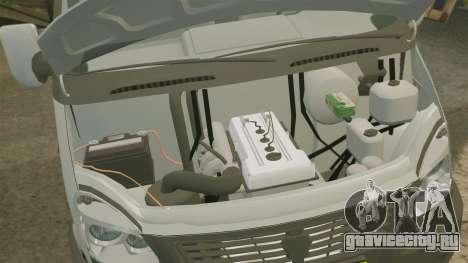 ГАЗ-3302 Бизнес для GTA 4 вид изнутри
