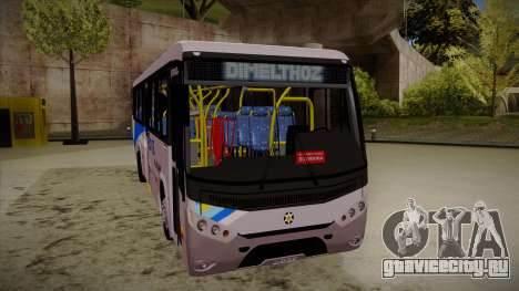 Marcopolo Senior Midi MB OF 1418 Rio Ita для GTA San Andreas вид слева