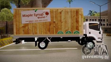 Chevrolet FRR Maple Syrup World для GTA San Andreas вид слева