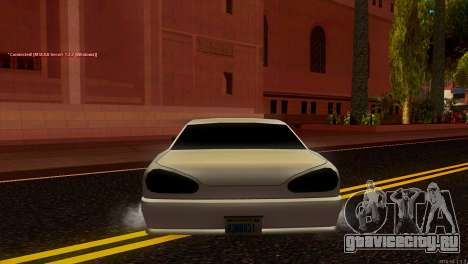 Elegy Estoq для GTA San Andreas вид сзади слева