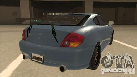 Hyundai Coupe V6 Soft Tuned v1 для GTA San Andreas вид справа