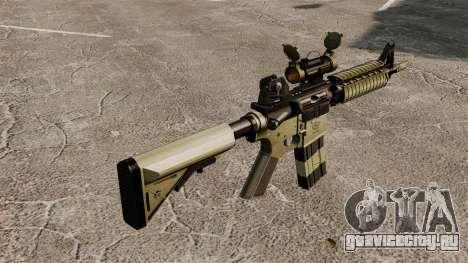 Автоматический карабин М4 CQBR v1 для GTA 4 второй скриншот