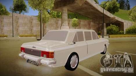 Paykan Limousine для GTA San Andreas вид справа