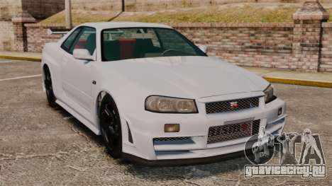 Nissan Skyline R34 GT-R NISMO Z-tune для GTA 4