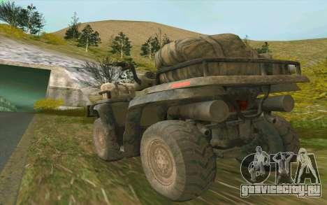 ATV из Medal of Honor для GTA San Andreas вид справа