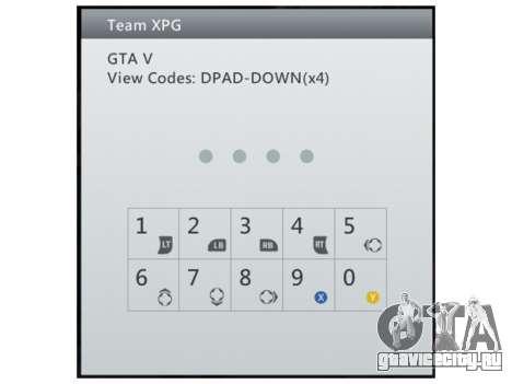 Team XPG GTA V Trainer 9 для GTA 5