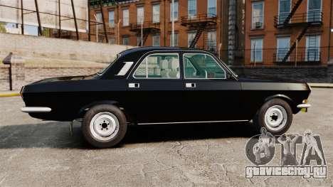 ГАЗ-2410 Волга v1 для GTA 4 вид слева