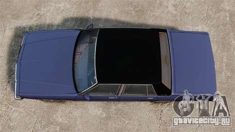 Chevrolet Caprice Brougham 1986 для GTA 4 вид справа