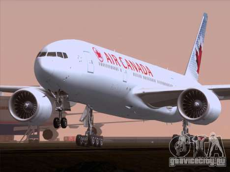 Boeing 777-200ER Air Canada для GTA San Andreas