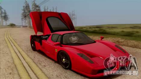 Ferrari Enzo 2002 для GTA San Andreas вид сверху
