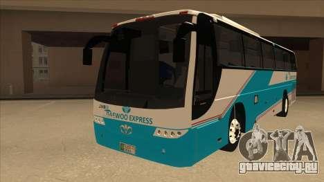 Zaibee Daewoo Express Coach для GTA San Andreas