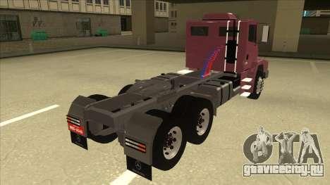 Mrecedes-Benz LS 2638 Canaviero для GTA San Andreas вид сзади слева