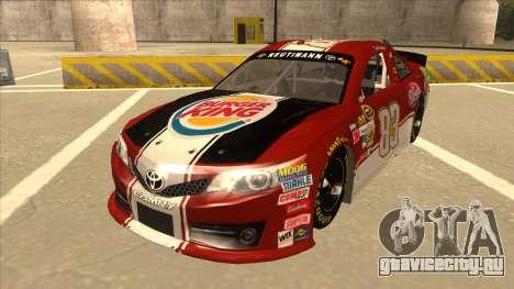 Toyota Camry NASCAR No. 83 Burger King Dr Pepper для GTA San Andreas