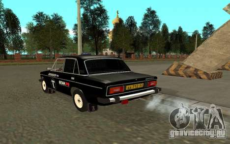 ВАЗ 2106 Такси для GTA San Andreas вид сзади слева