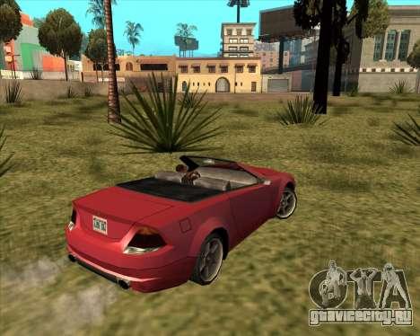 Benefactor Feltzer из GTA 4 для GTA San Andreas вид слева