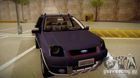 Ford Ecosport FreeStyle 2007 для GTA San Andreas вид слева
