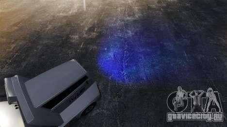 Синий свет фар для GTA 4 третий скриншот