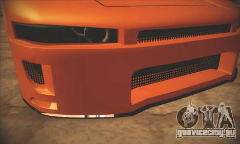 Infernus One для GTA San Andreas вид справа