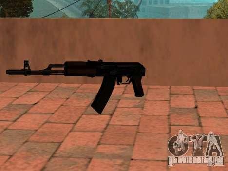 АК-74 без приклада для GTA San Andreas второй скриншот