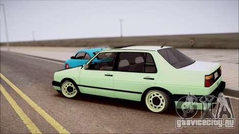 VW Jetta MK2 для GTA San Andreas вид слева