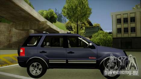Ford Ecosport FreeStyle 2007 для GTA San Andreas вид сзади слева