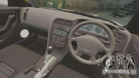 Nissan Skyline R33 NISMO 400R для GTA 4 вид изнутри