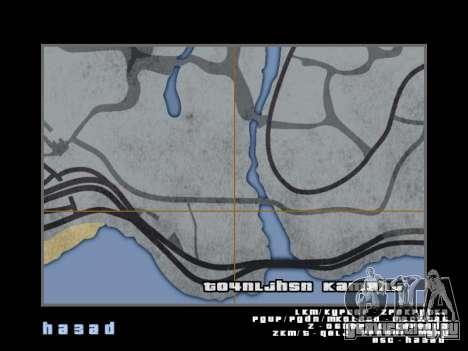 Карта в стиле GTA 5 для GTA San Andreas одинадцатый скриншот