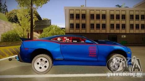 Chevrolet Camaro ZL1 Elite для GTA San Andreas вид сзади слева