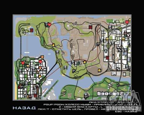 Вертолётная экскурсия по Сан-Фиерро для GTA San Andreas второй скриншот