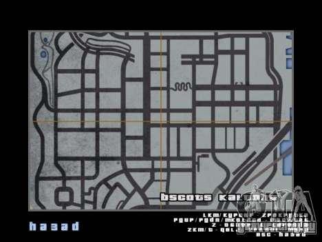 Карта в стиле GTA 5 для GTA San Andreas восьмой скриншот