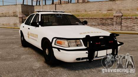 GTA V sheriff car [ELS] для GTA 4