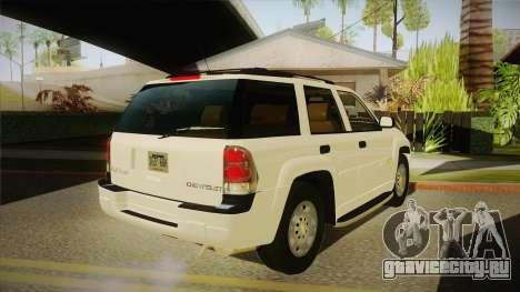 Chevrolet Trail Blazer для GTA San Andreas вид справа