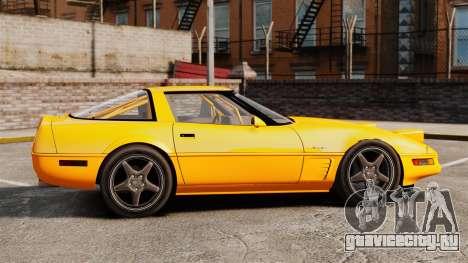 Chevrolet Corvette C4 1996 v1 для GTA 4 вид слева