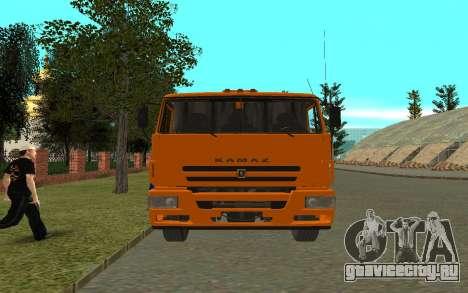 КамАЗ 6520 для GTA San Andreas вид справа
