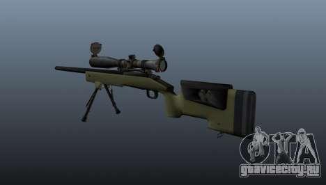 Снайперская винтовка  M40A3 для GTA 4 второй скриншот