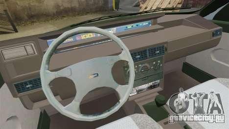 Fiat Tempra SX.A v2.0 для GTA 4 вид изнутри