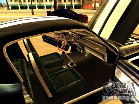 Ford Shelby GT-500E Eleanor для GTA San Andreas вид сбоку