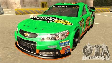 Chevrolet SS NASCAR No. 10 Go Daddy для GTA San Andreas
