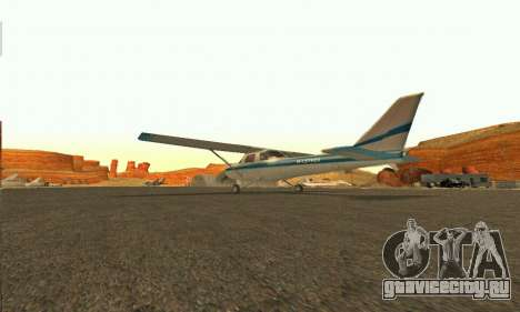 Dodo GTA V для GTA San Andreas вид сзади слева