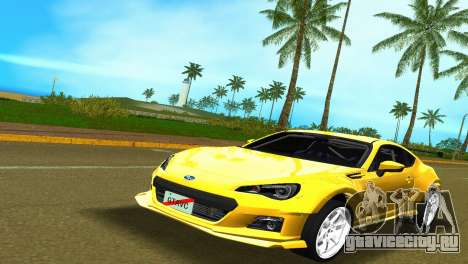 Subaru BRZ Type 5 для GTA Vice City