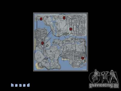 Карта в стиле GTA 5 для GTA San Andreas второй скриншот